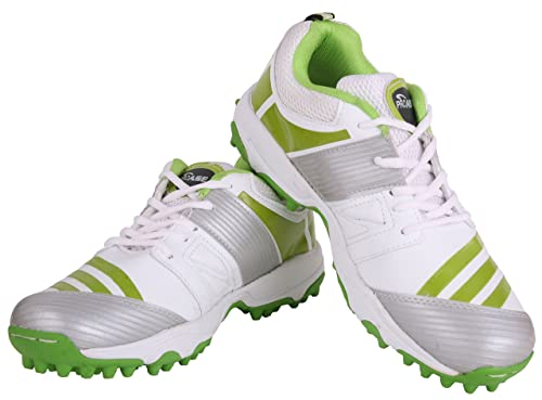 37beaf6000bf PRO ASE White Green Cricket Shoe  Buy Online at Low Prices in India -  Amazon.in