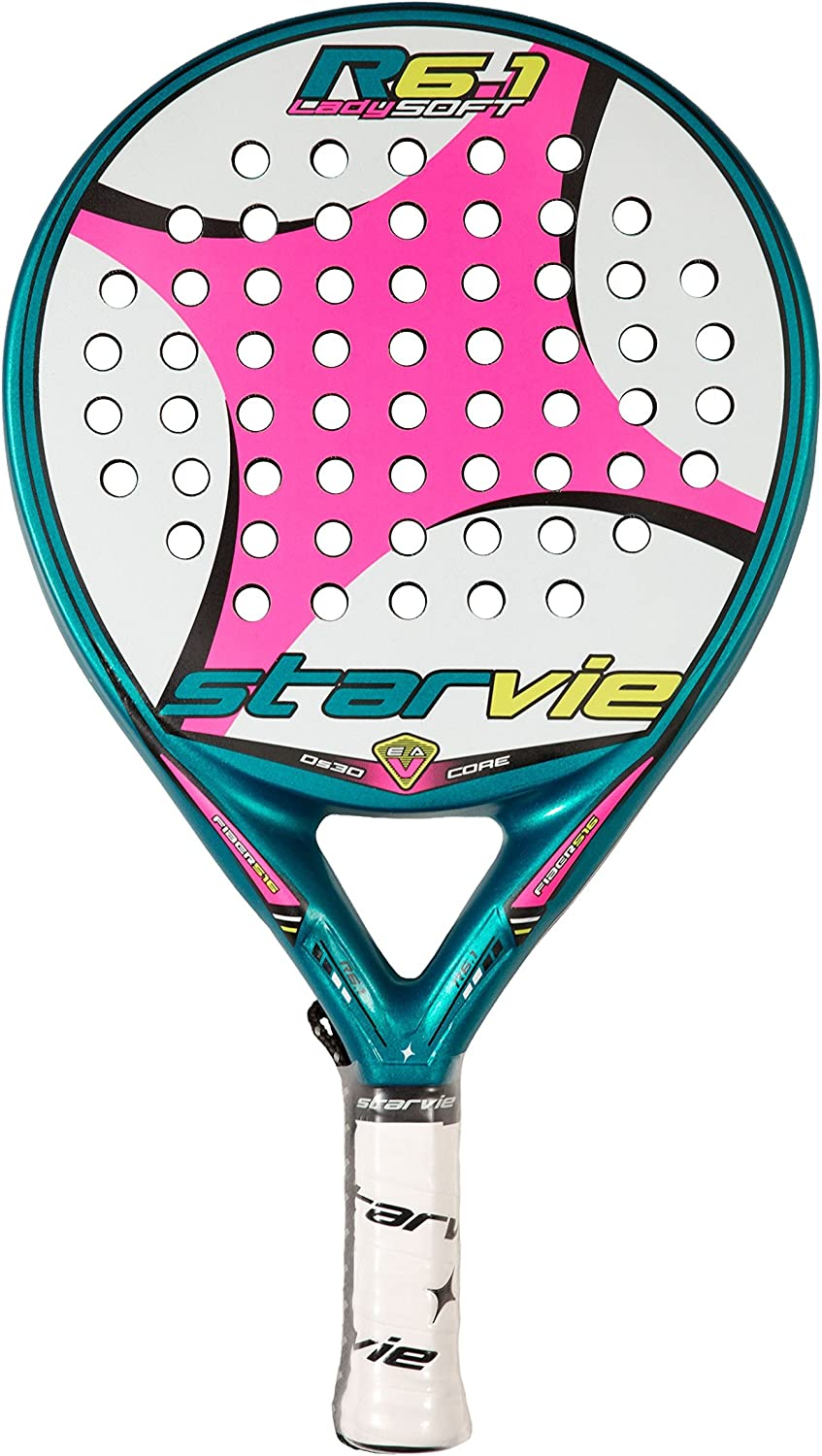 Pala de padel Starvie R6.1 Lady Soft 2016: Amazon.es: Deportes y ...