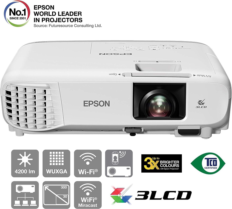 Epson EB-2247U - 3LCD projector - 4200 lumens (white): Amazon.es ...