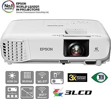 Epson EB-2247U - 3LCD projector - 4200 lumens (white): Amazon ...