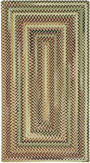 product image for Capel Rugs Bangor Rectangle Braided Area Rug, 2 x 4', Sandy Beige