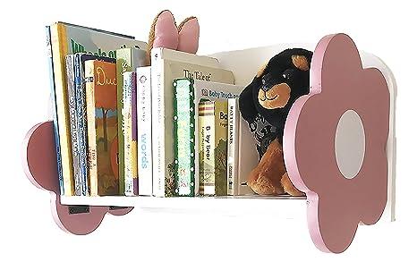 BbSmarts Floating Wall Shelf Bookshelf For Baby Room Nursery Or Kids
