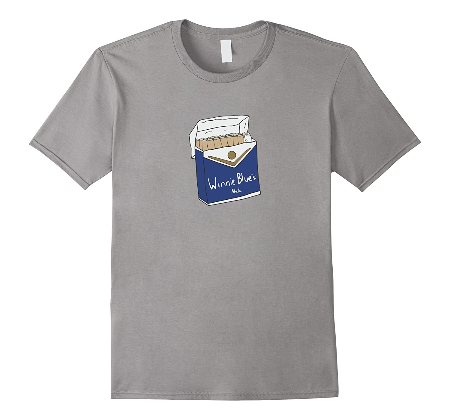 Winnie Blues Mate - Funny cigarette packet T-shirt-CD