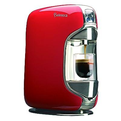 BELMOCA Coffee Capsule Machine BELINA, 1250 Watt, Red by Belmoca