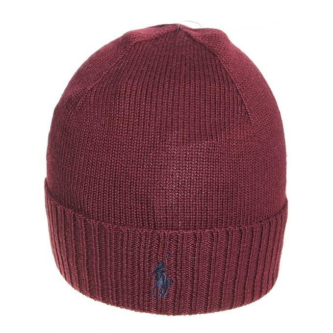 buy online e7b56 dccf5 Ralph Lauren Cappello in lana merino Mod. 710568980017 ...