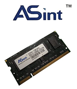 asint 1 GB DDR2 PC2 - 6400 (800MHz) 200 PIN ssy2128 m portátil Memoria: Amazon.es: Informática
