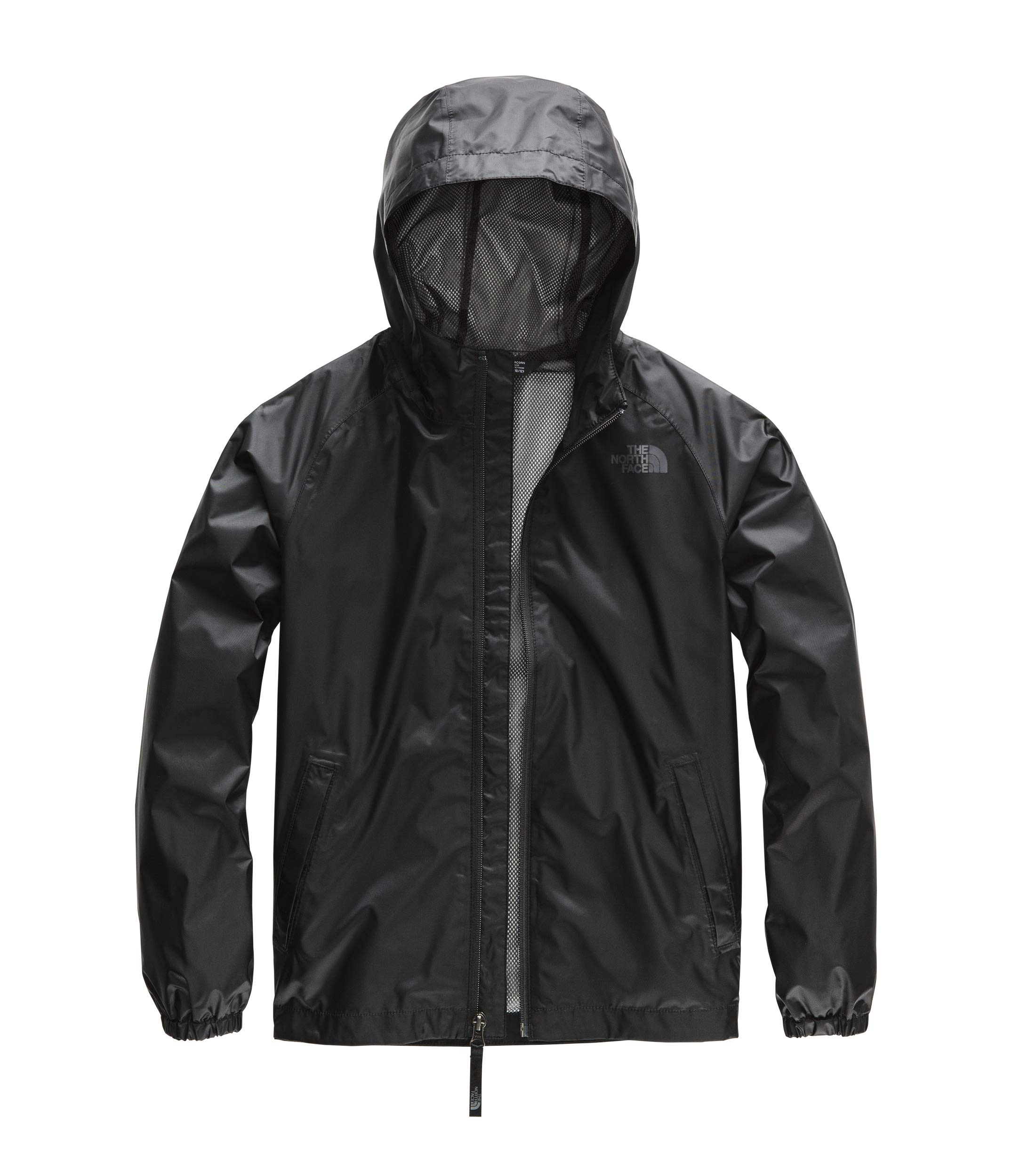 The North Face Boy's Zipline Rain Jacket, TNF Black, Size M by The North Face