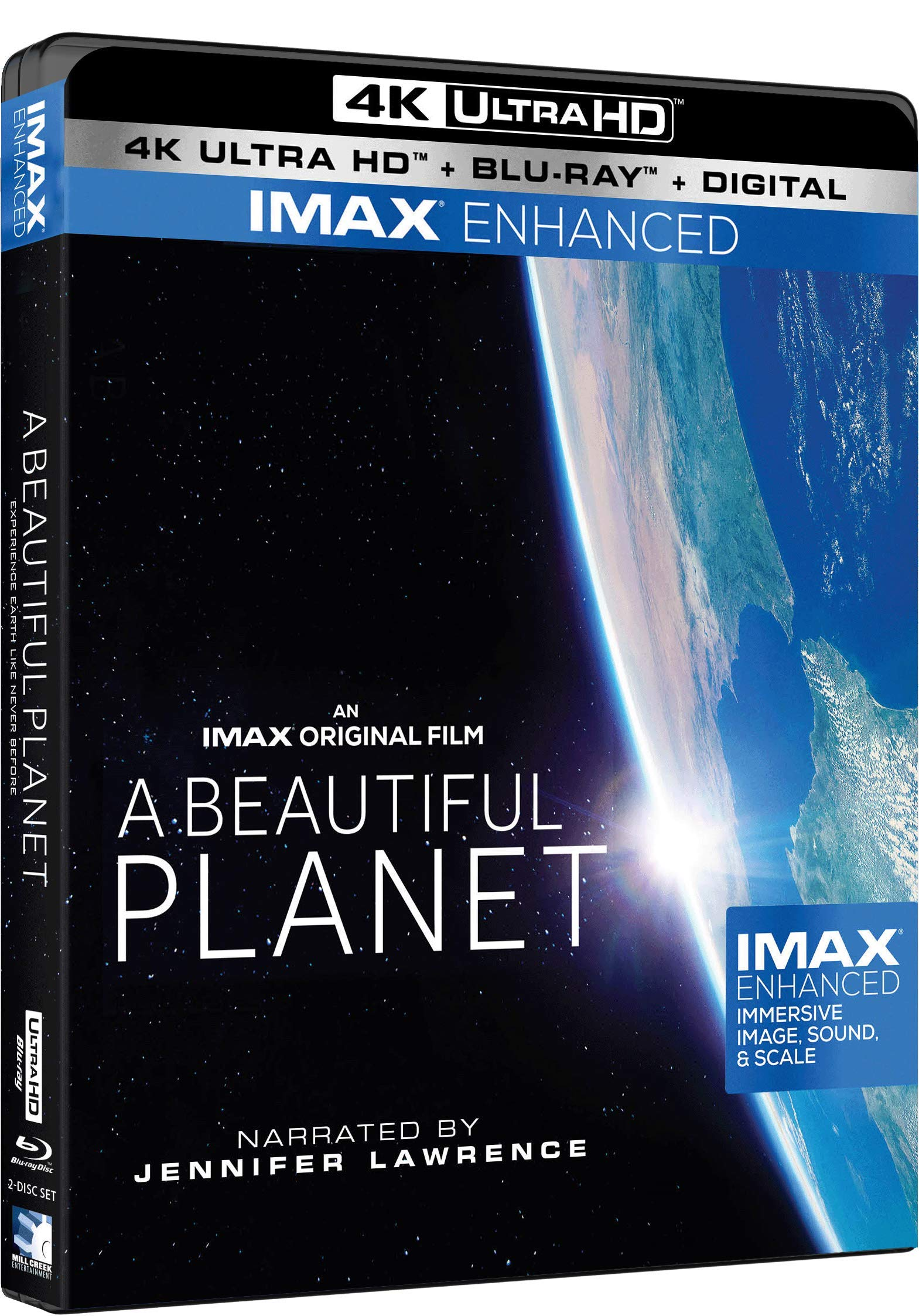 4K Blu-ray : The Beautiful Planet (With Blu-ray, 4K Mastering, 2 Pack)