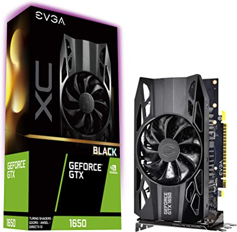 EVGA GeForce GTX 1650 XC Black Gaming, 4GB GDDR5, 04G-P4-1151-KR