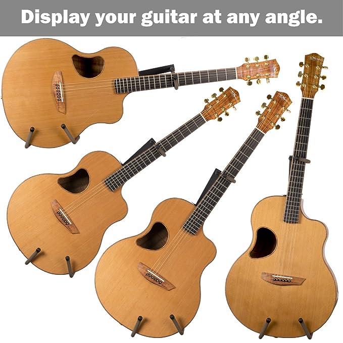 String Swing Soporte Horizontal para Guitarra Electrica Acústica Bajo Montaje en la Pared: Amazon.es: Instrumentos musicales
