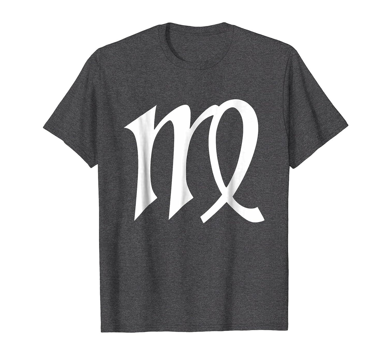 Virgo Symbol T Shirt Zodiac Sign August September Birthday Colonhue