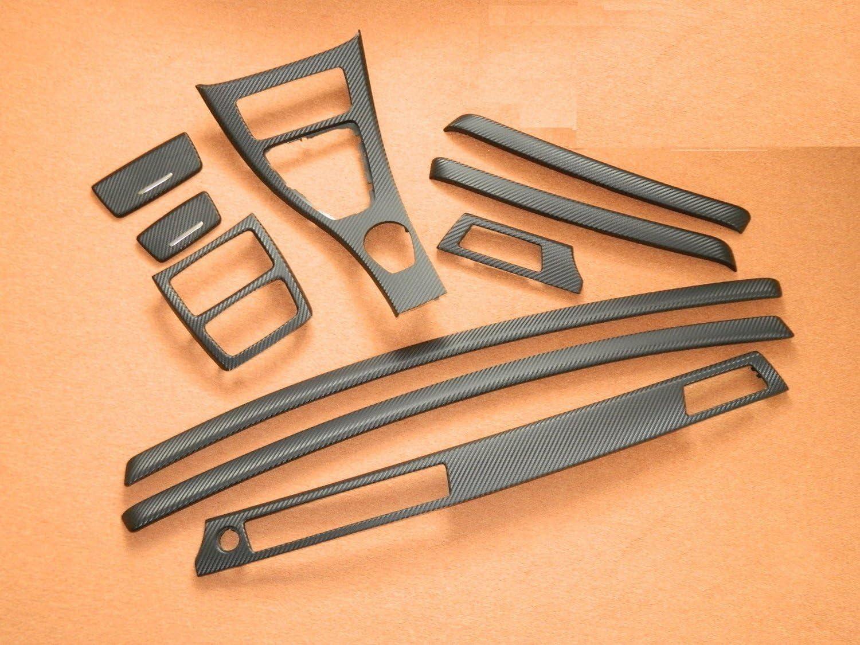 Dekorleisten Interieurleisten Carbon 3d Struktur Folien Set Passend Für Bmw E92 Coupe E93 Cabrio Auto