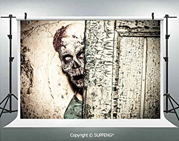 Amazon.com: Fondo de fotos de hombre muerto en casa antigua ...
