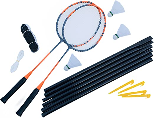 12 opinioni per Ultrasport Set Badminton per 2 Persone