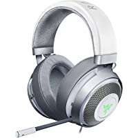 Razer Kraken 7.1 V2: 7.1 Surround Sound - Gaming Headset Works with PC, PS4, Xbox One, Switch, Mobile Devices - Mercury (RZ04-02060300-R3M1)