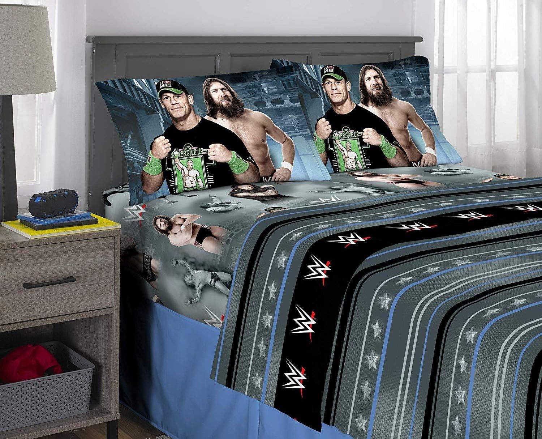 World Wrestling Entertainment WWE Full Bedding Sheet Set
