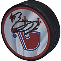 $71 » Nathan MacKinnon Colorado Avalanche Autographed Reverse Retro Hockey Puck…