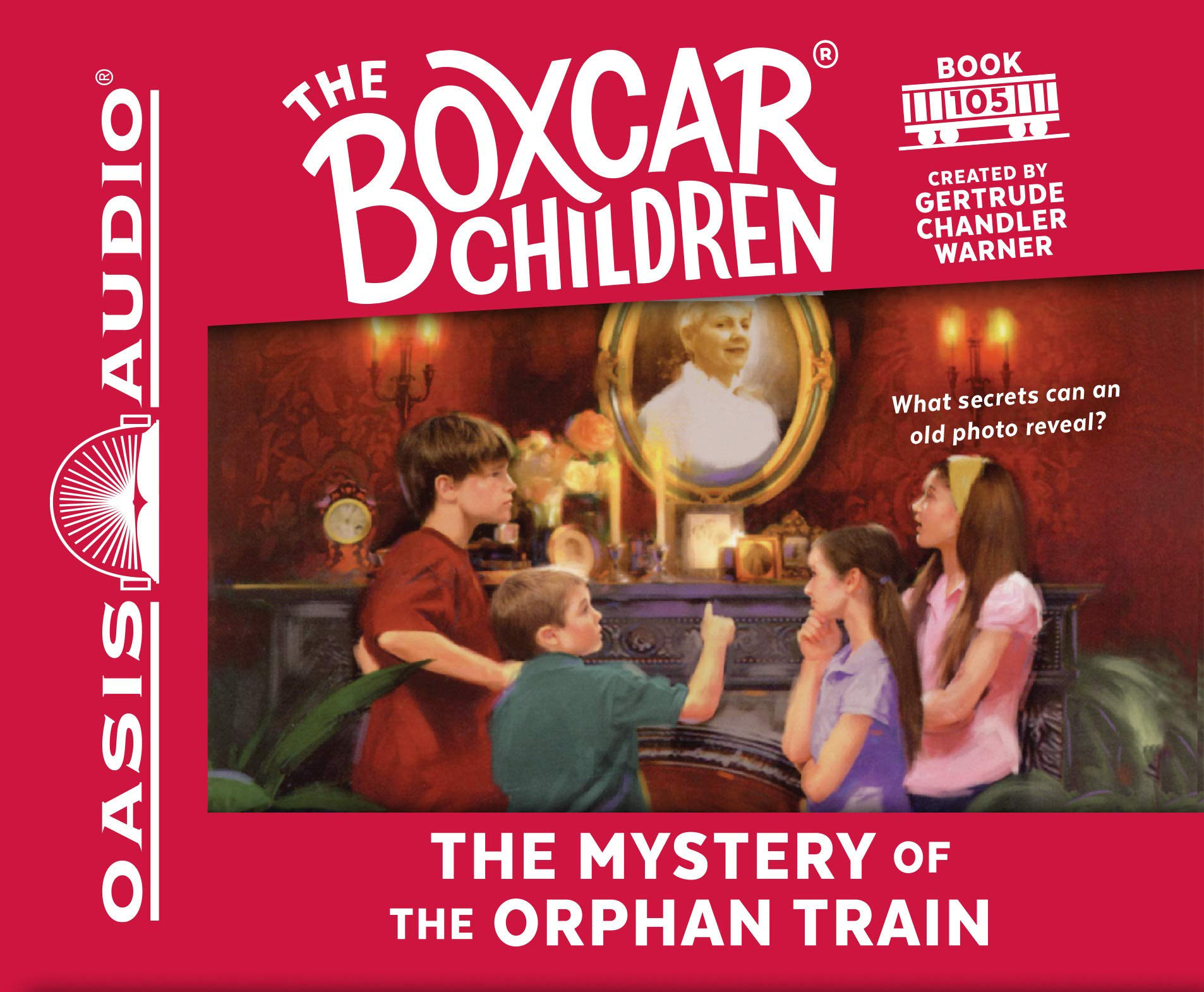The Mystery of the Orphan Train (Library Edition) (The Boxcar Children Mysteries) pdf epub
