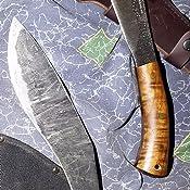 Condor Tool & Knife, Pack Golok Knife, 11in Blade, Hardwood Handle with Sheath