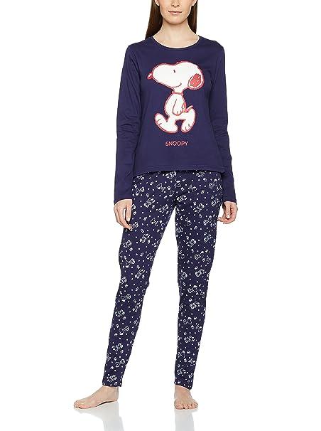 Licencias Pijama Snoopy Big Azul Marino S