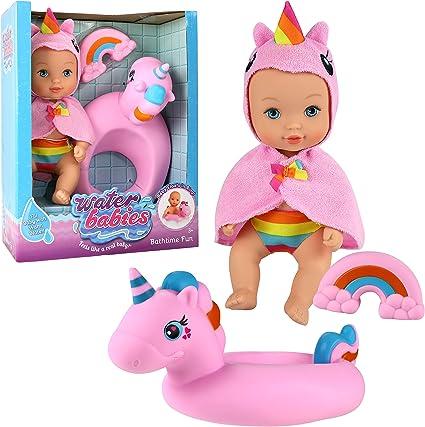 Waterbabies Doll Bathtime Fun Unicorn Doll