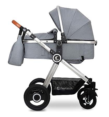Carro de bebé 2en1 BBtwin Bertica. Color gris: Amazon.es: Bebé
