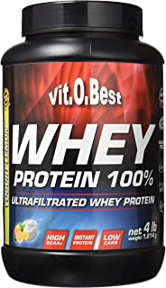 Vitobest Whey Protein 100%, Aroma de Limón - 1814 gr