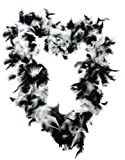 FEATHER BOA 65G THICK HEN NIGHT ACCESSORY FANCY DRESS FLAPPER BOAS IN 10 COLOURS 1920'S BURLESQUE FEATHERS