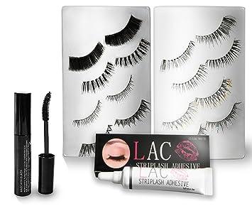 574a9eb9374 False Eyelashes 8 Flexi-band Lashes   Eyelash Extension Safe Mascara    Hypoallergenic Lash Glue