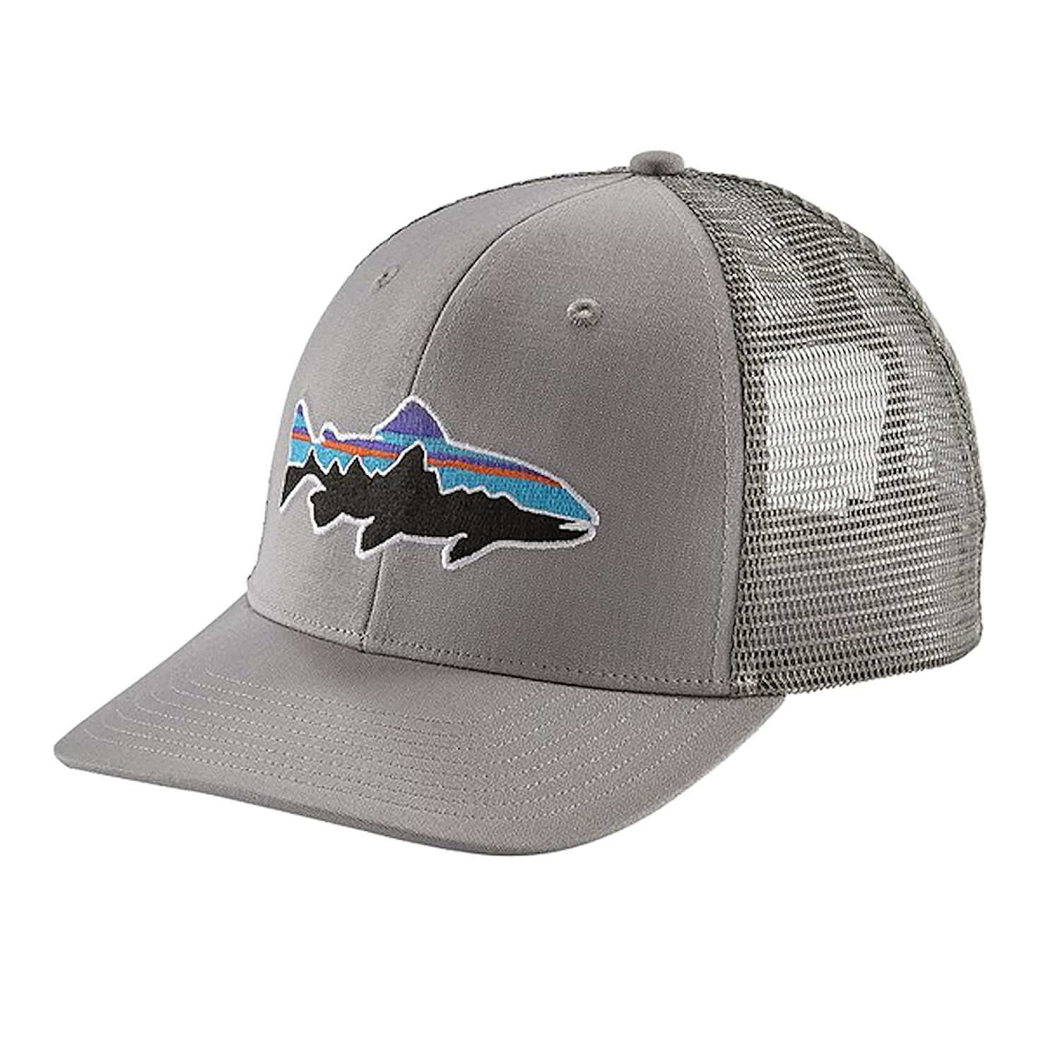 Patagonia Fitz Roy Trout Trucker Hat B01NCZH0FA One Size Drifter Grey Drifter Grey One Size