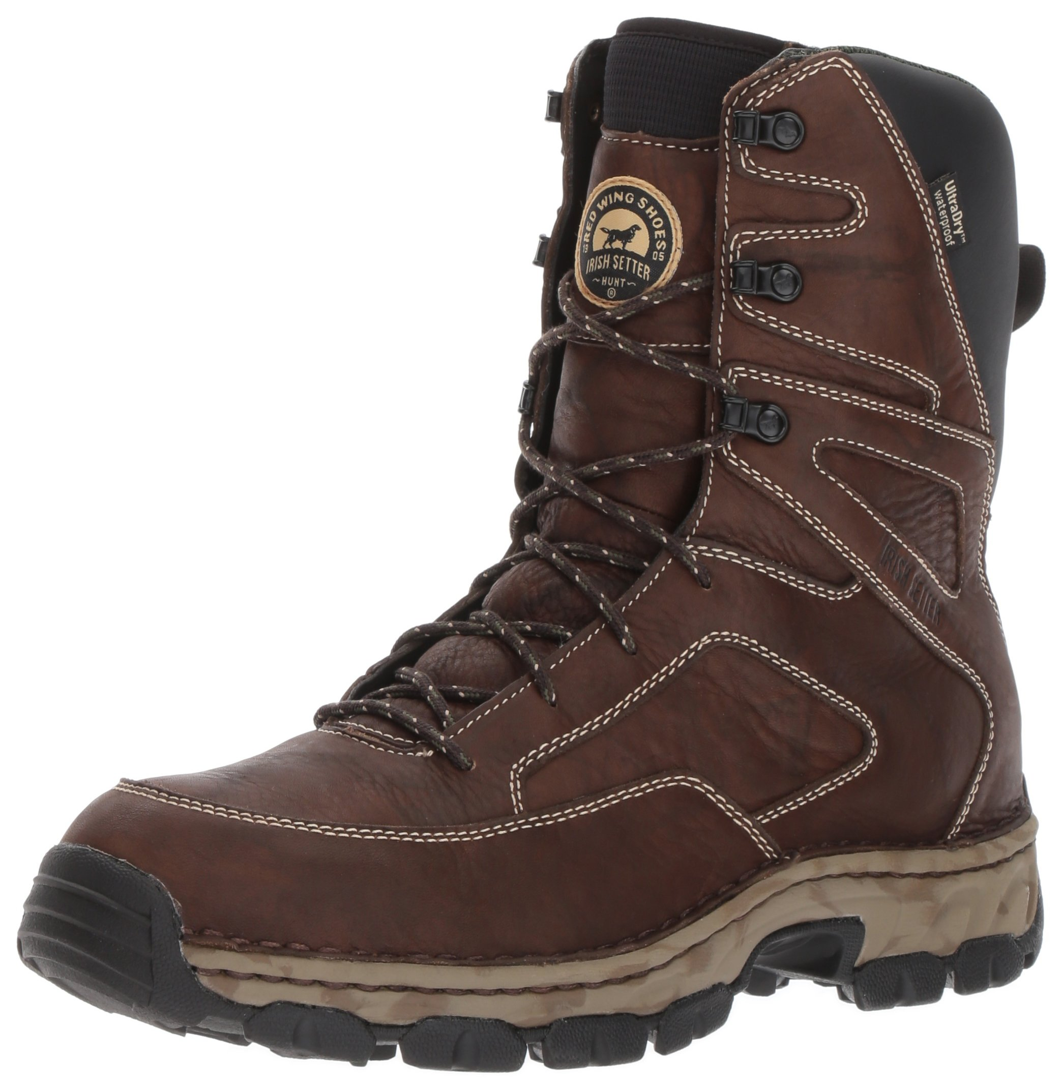 Irish Setter Men's Havoc XT-810 Hunting Shoes, Brown, 12 D US
