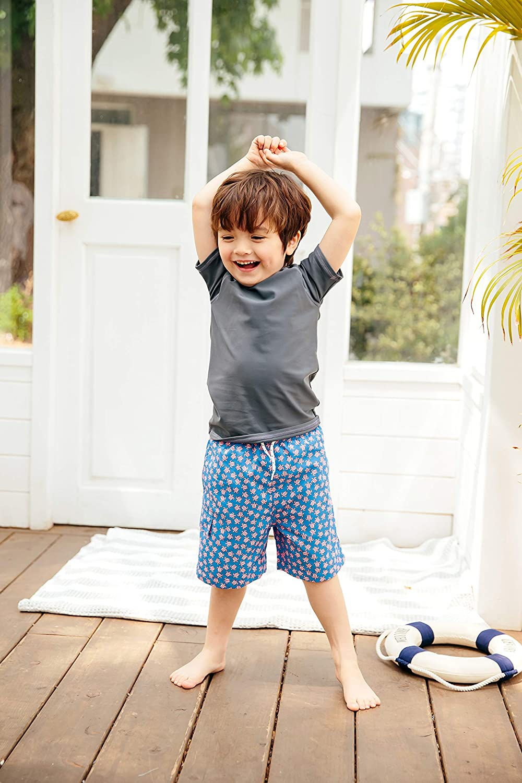 Short Sleeve Rashguard Swim Shirt Quick Dry S.Diving Vaenait baby 2T-7T Boys /& Girls UPF 50