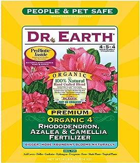 product image for Dr. Earth 703 Organic 4 Azalea/Camellia/Rhododendron Acid Fertilizer, 4-Pound