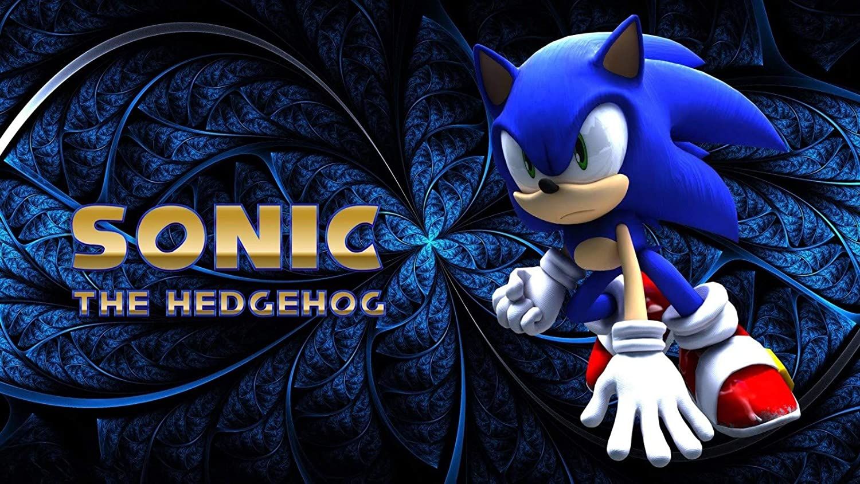 Amazon Com Handtao Sonic The Hedgehog Movie Fabric Cloth Wall Poster Photo Print 43x24 Inch Home Kitchen