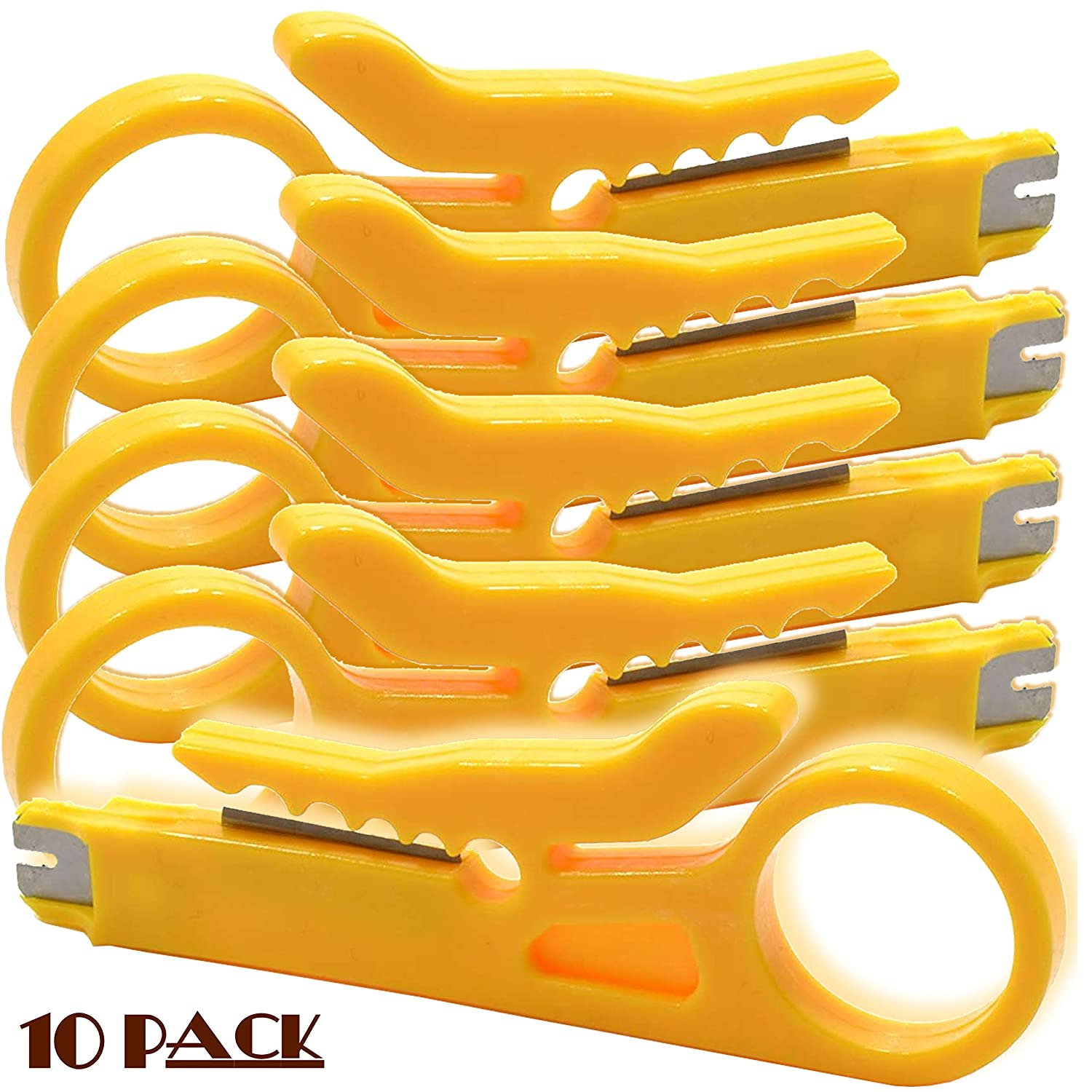 1 Pack Convenient Pocket Sized IDC Insertion Tool and Wire Stripper