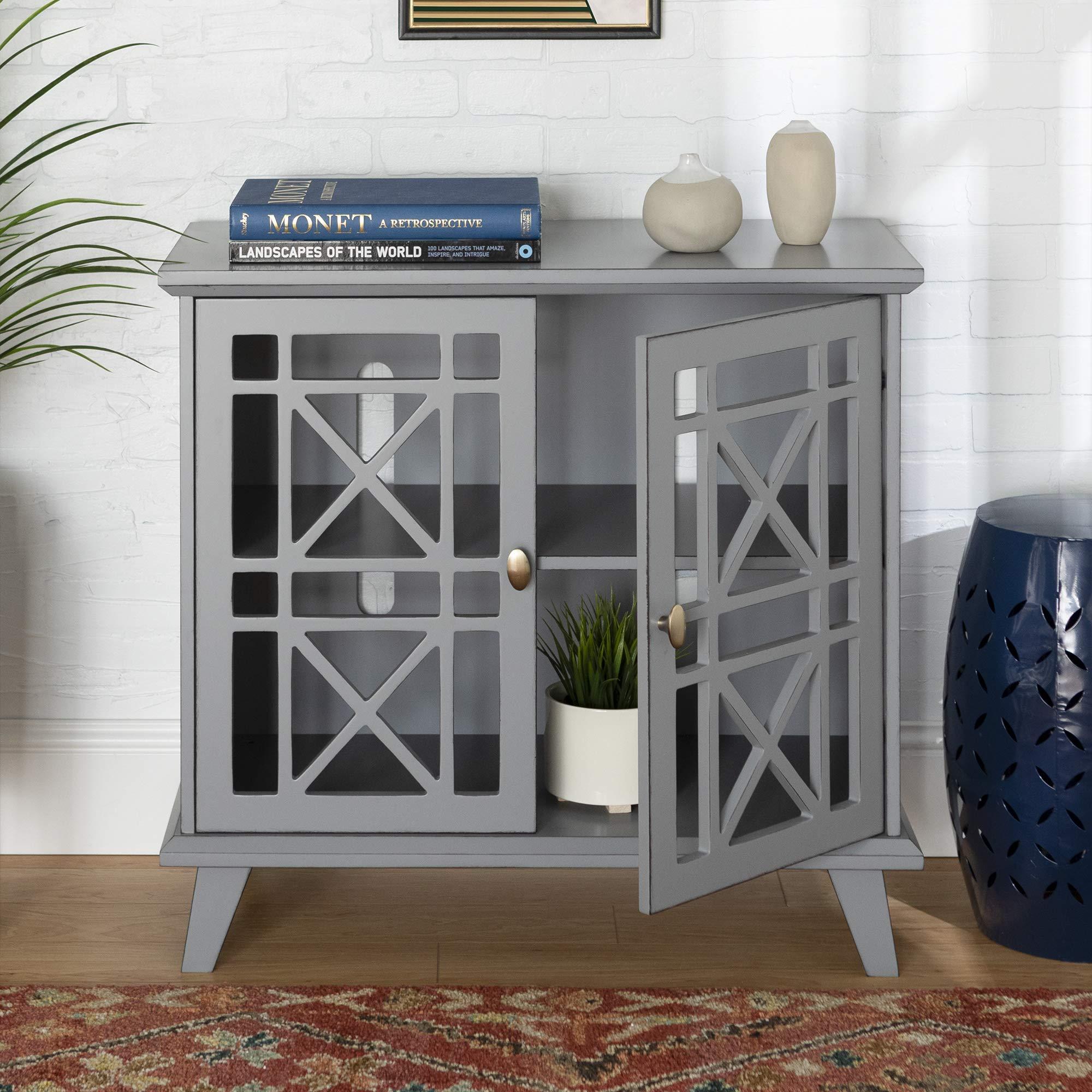 Walker Edison Furniture Company Wood Accent Buffet ...