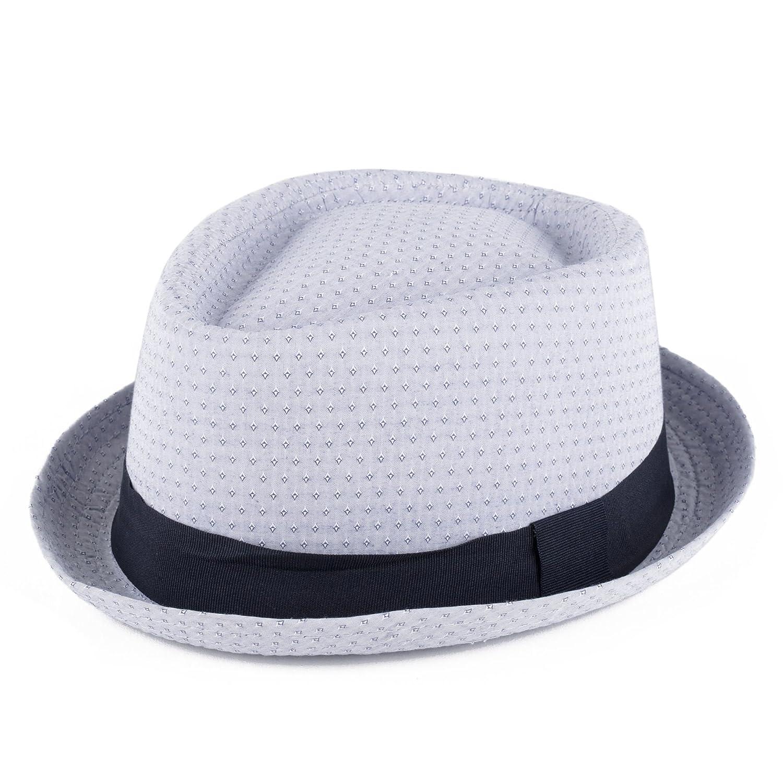 Cappello Pork Pie Estivo a Forma di Diamante 59 cm) Hat To Socks