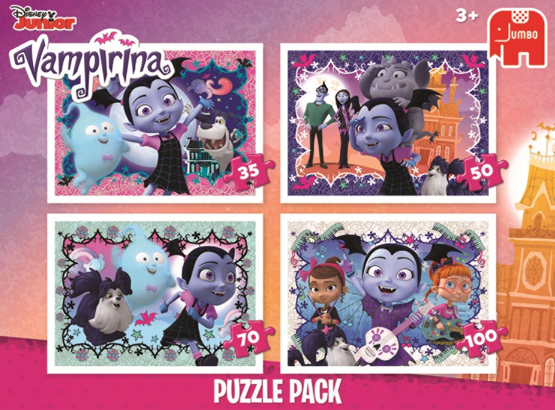 Disney Vampirina 4 - Rompecabezas (Jigsaw Puzzle, Dibujos, Preescolar, Chica, 3 Año(s), Interior): Amazon.es: Juguetes y juegos