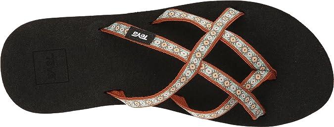 d2711881c848 Teva Women s Olowahu 2-Pack Mbob Lola Brown Mint Sandal  Amazon.co.uk  Shoes    Bags