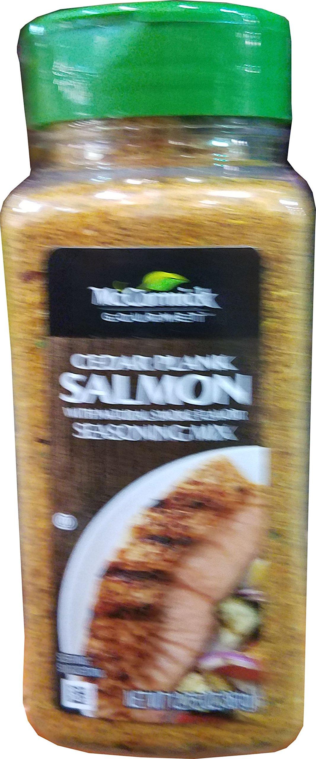 McCormick Gourmet Cedar Plank Salmon Seasoning, 12.75 Ounce