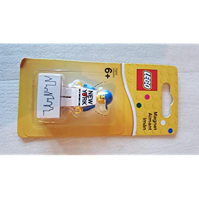 LEGO Magnet Set, New York (Apple) Minifigure, Flatiron, New York, NY: Toys & Games [5Bkhe1905956]