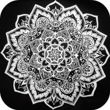 Black Mandala Wallpaper - Life Styles