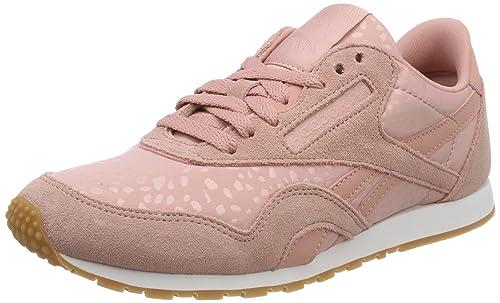 Reebok Damen Classic Nylon Slim Text Lux Sneaker