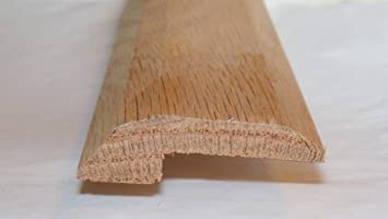Solid Red Oak Interior Threshold - Style 2 (48u0026quot; ... & Solid Red Oak Interior Threshold - Style 2 (48