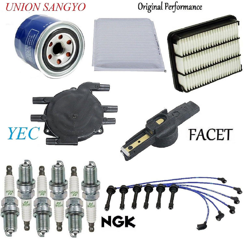 6 NGK V-Power Plug Spark Plugs 1988-1995 Toyota Pickup 3.0L V6 Kit Set Tune