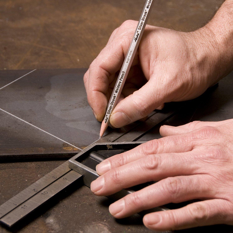 2 Pack de 12 Markal 96101 plateado Streak soldadores lápiz incluido por Maven Regalos: Amazon.es: Amazon.es