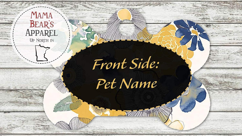 Personalized Tie-Dye Dog Pet Tag