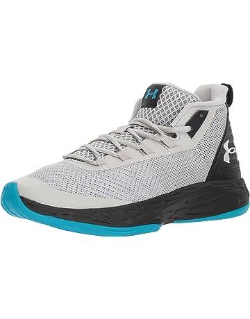 ded467a1e6686 Under Armour Men s Jet Mid Basketball Shoe Black Steel White