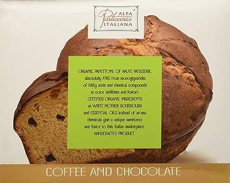 Panettone de café y chocolate - 500 gr.: Amazon.es: Alimentación y ...