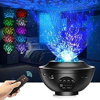 Led-sterrenhemel projector, sterrenlamp, Galaxy Light, kindernachtlampje met afstandsbediening / Bluetooth-luidspreker…